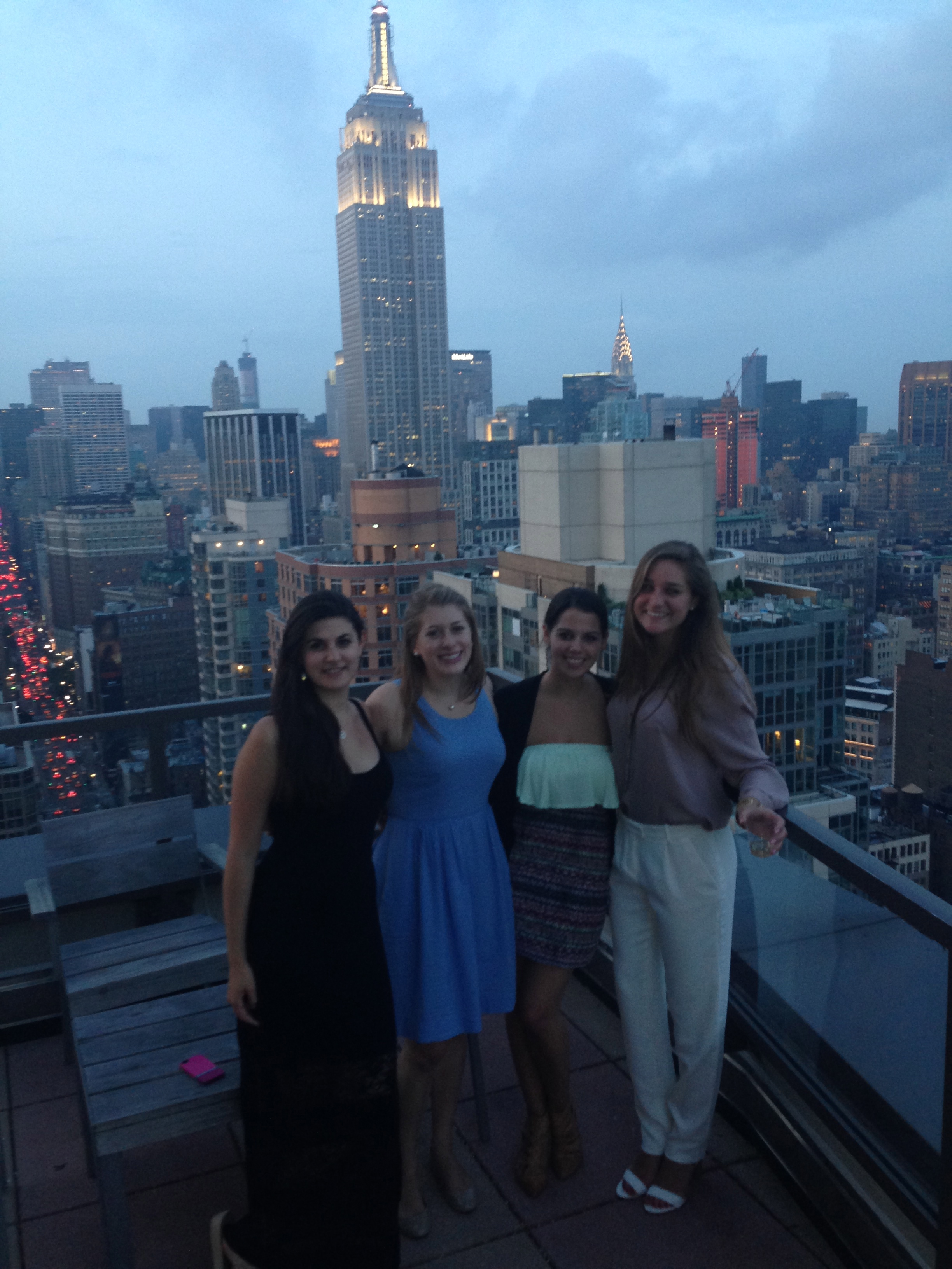NYC internship comes with view.
