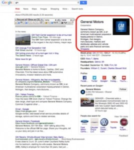Google Knowledge Graph Sources