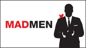 Man Men Finale Twitter Infographic