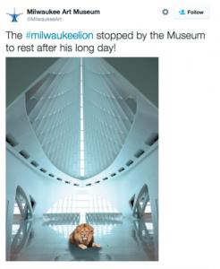 MKE Museum Lion