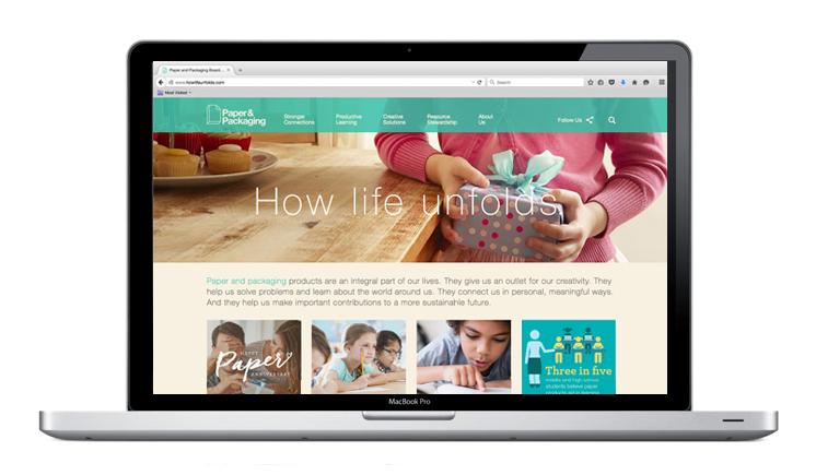 The Howlifeunfolds.com homepage.