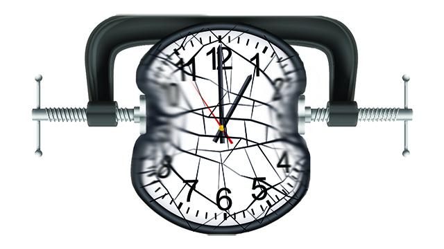 time crunch clock