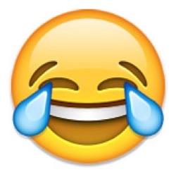 tear joy emoji