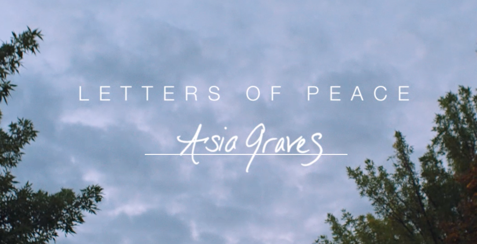 Letters of Peace: Healing starts with forgiveness.