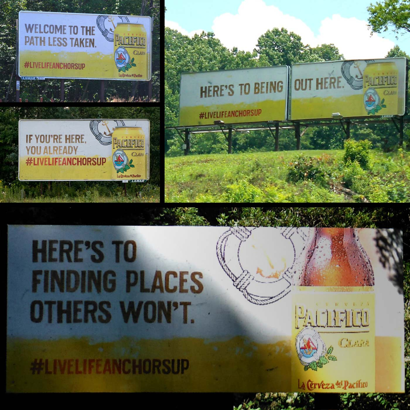 Pacifico Isolated Billboards
