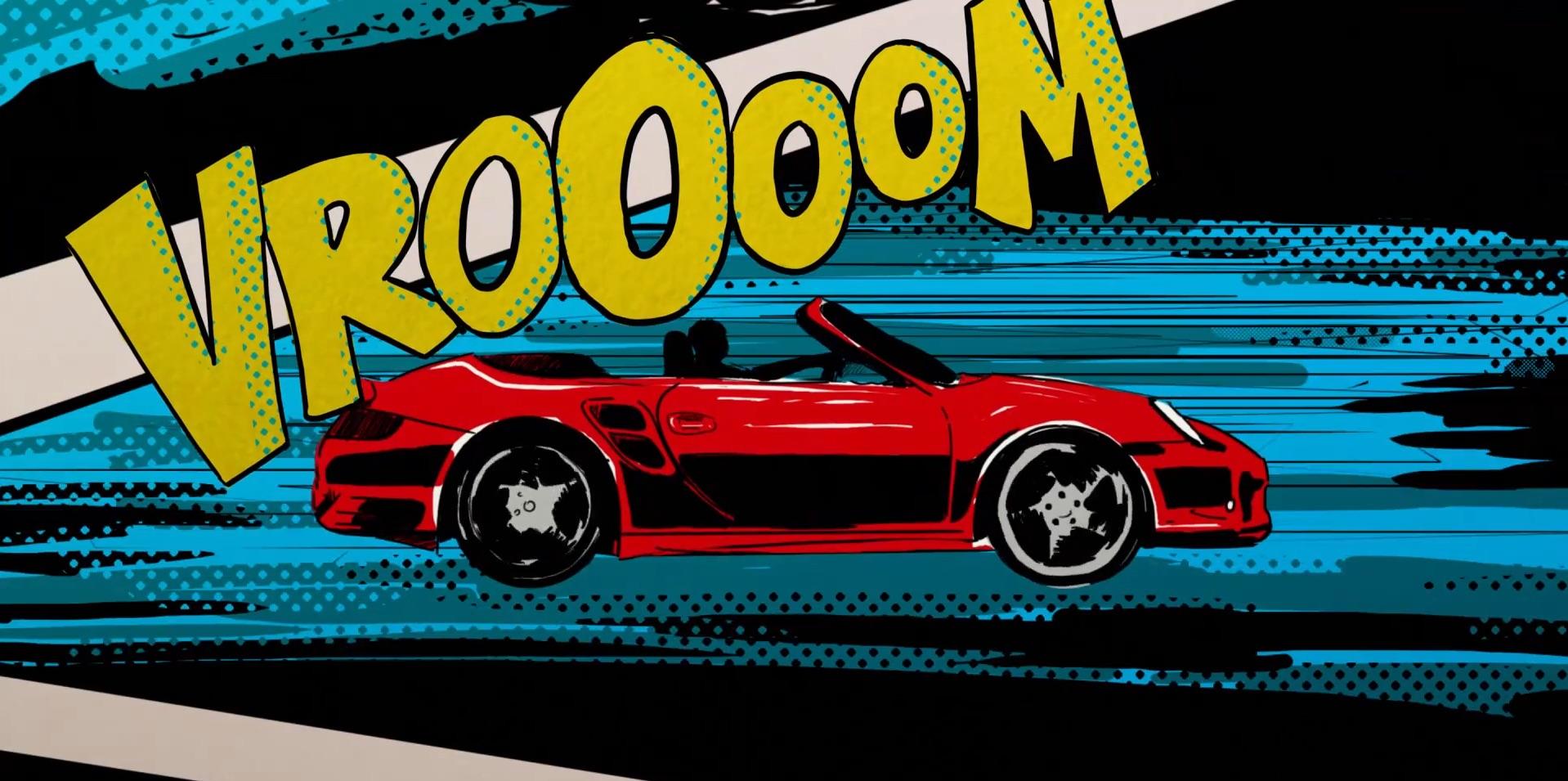 Porsche 911 Pop Star